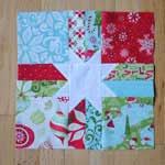 A Christmas Star Block Pattern