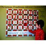 Advent Calendar Quilt Pattern