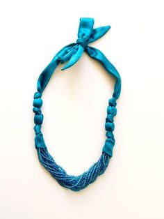 Wrapped Strands Necklace