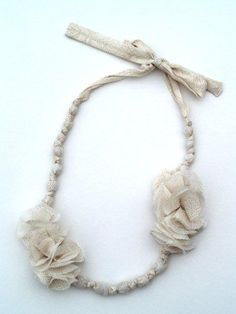 Sweet Ruffled Necklace